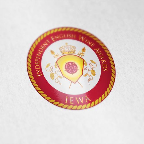 Coat of arms designed for the Independent English Wine Awards.
