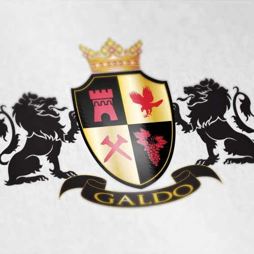 Coat of arms designed for the Galdo family from Italy