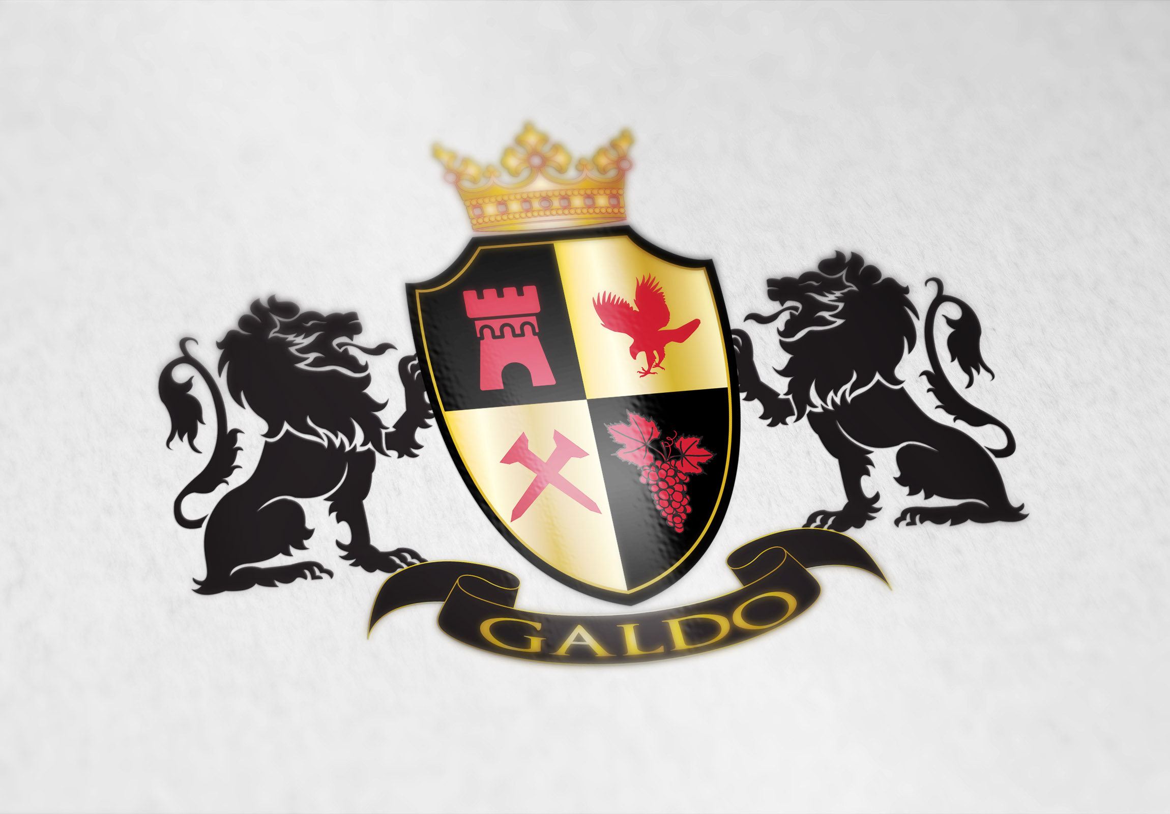 Coat Of Arms For The Galdo Family From Italy Custom Coat Of Arms