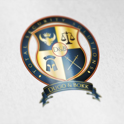 Coat of arms designed for a security company from the New York City.