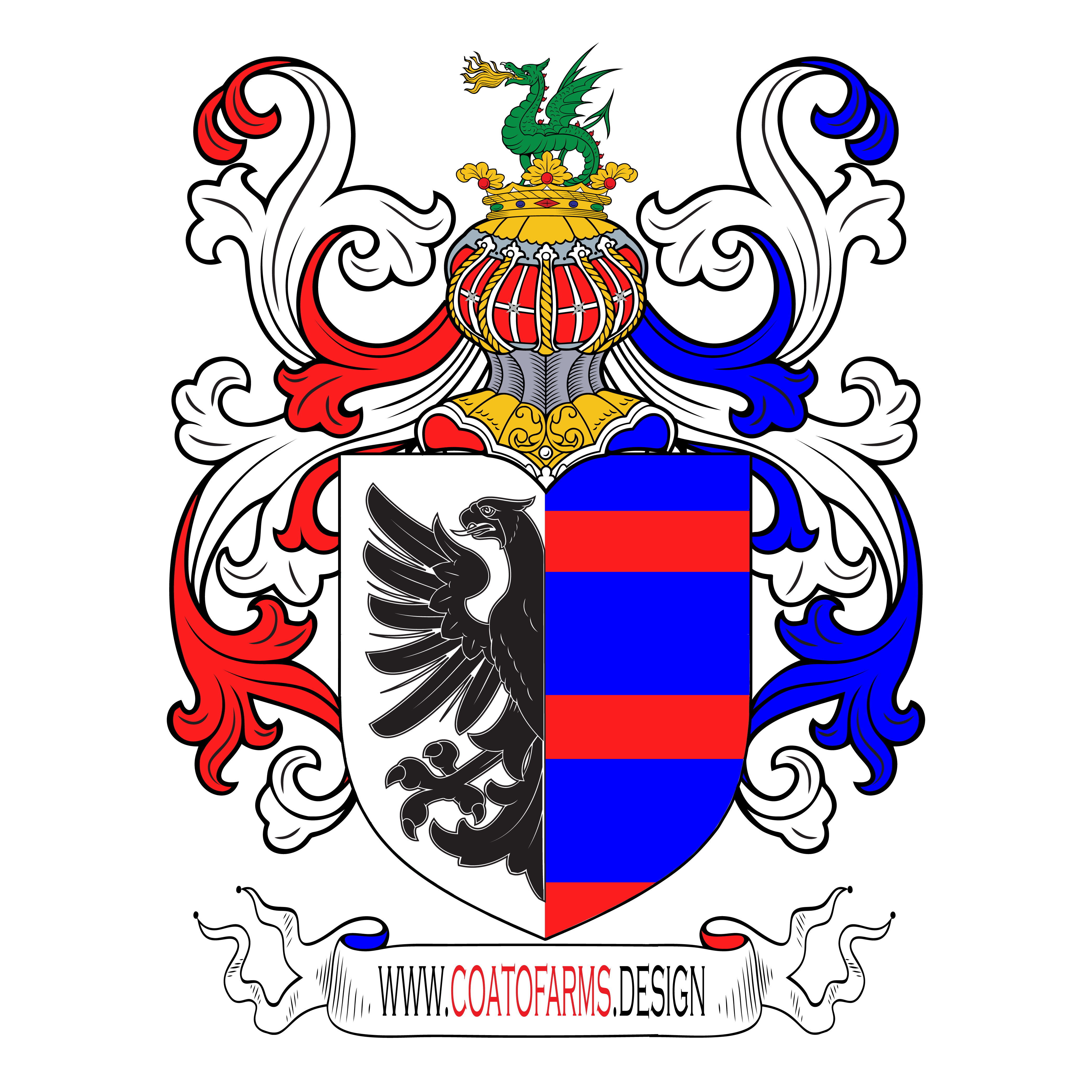 Coat Of Arms For A Secret Association From The Usa Custom Coat Of