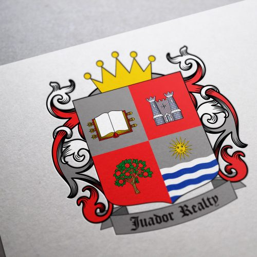 Real estate business coat of arms