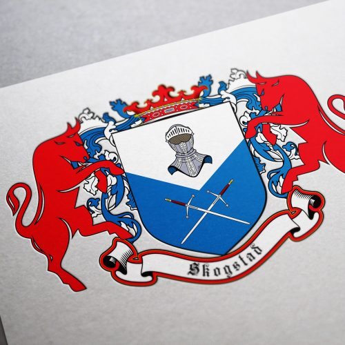 Coat of arms I designed for a family from Spain 1