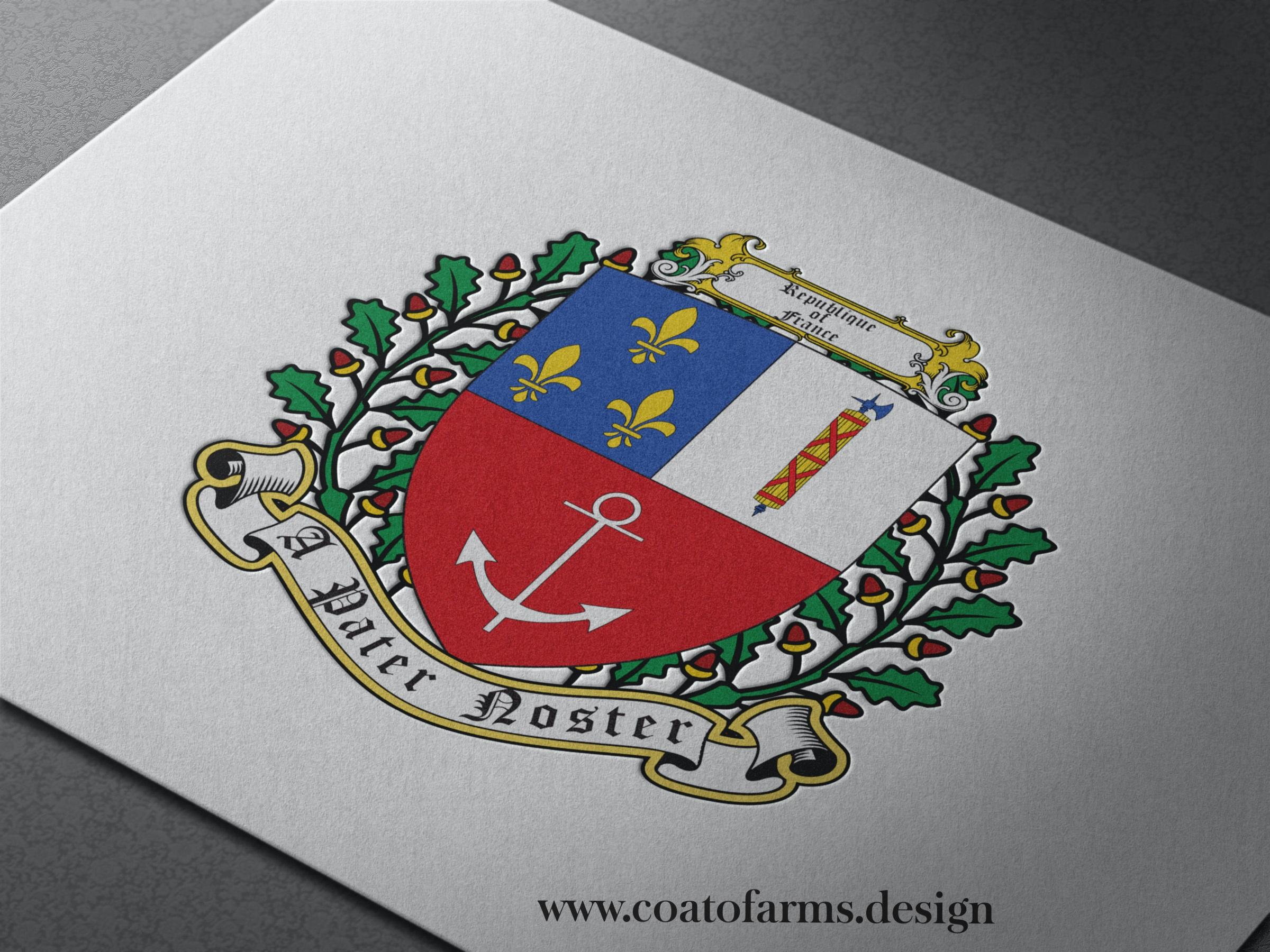 france family coat of arms