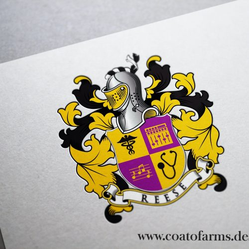 reese musician coat of arms