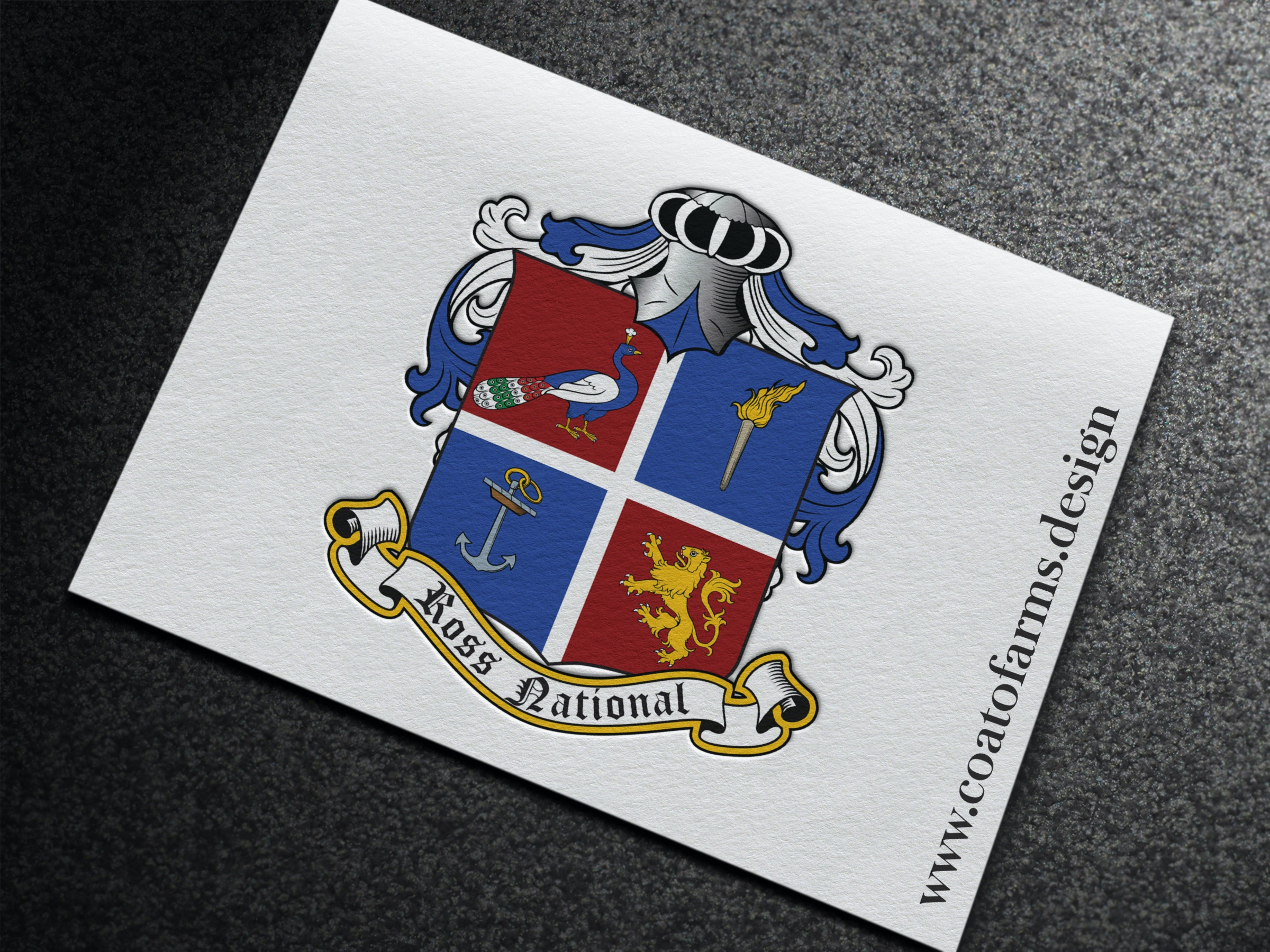 ross national coat of arms