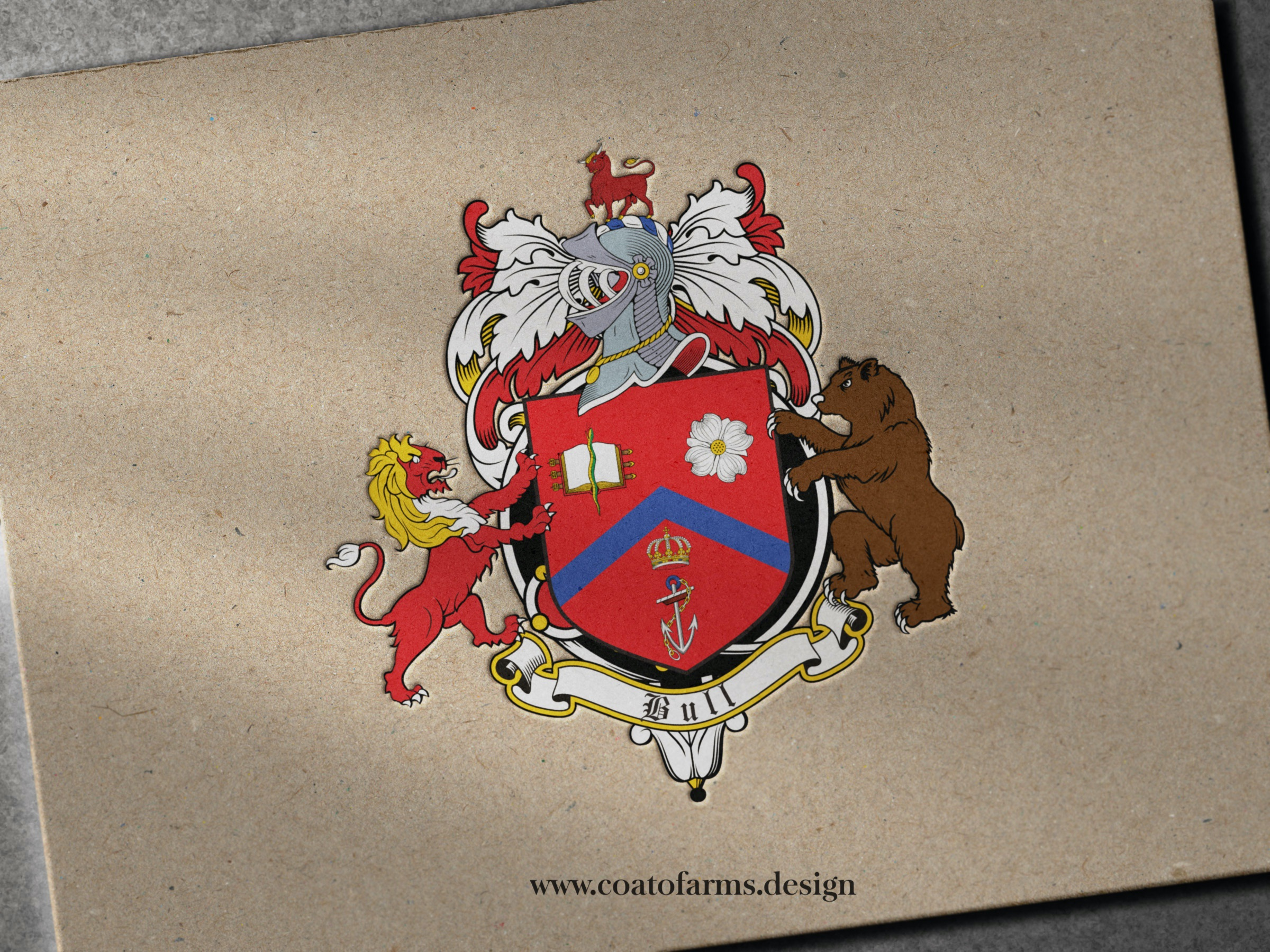 coat of arms family from Australia