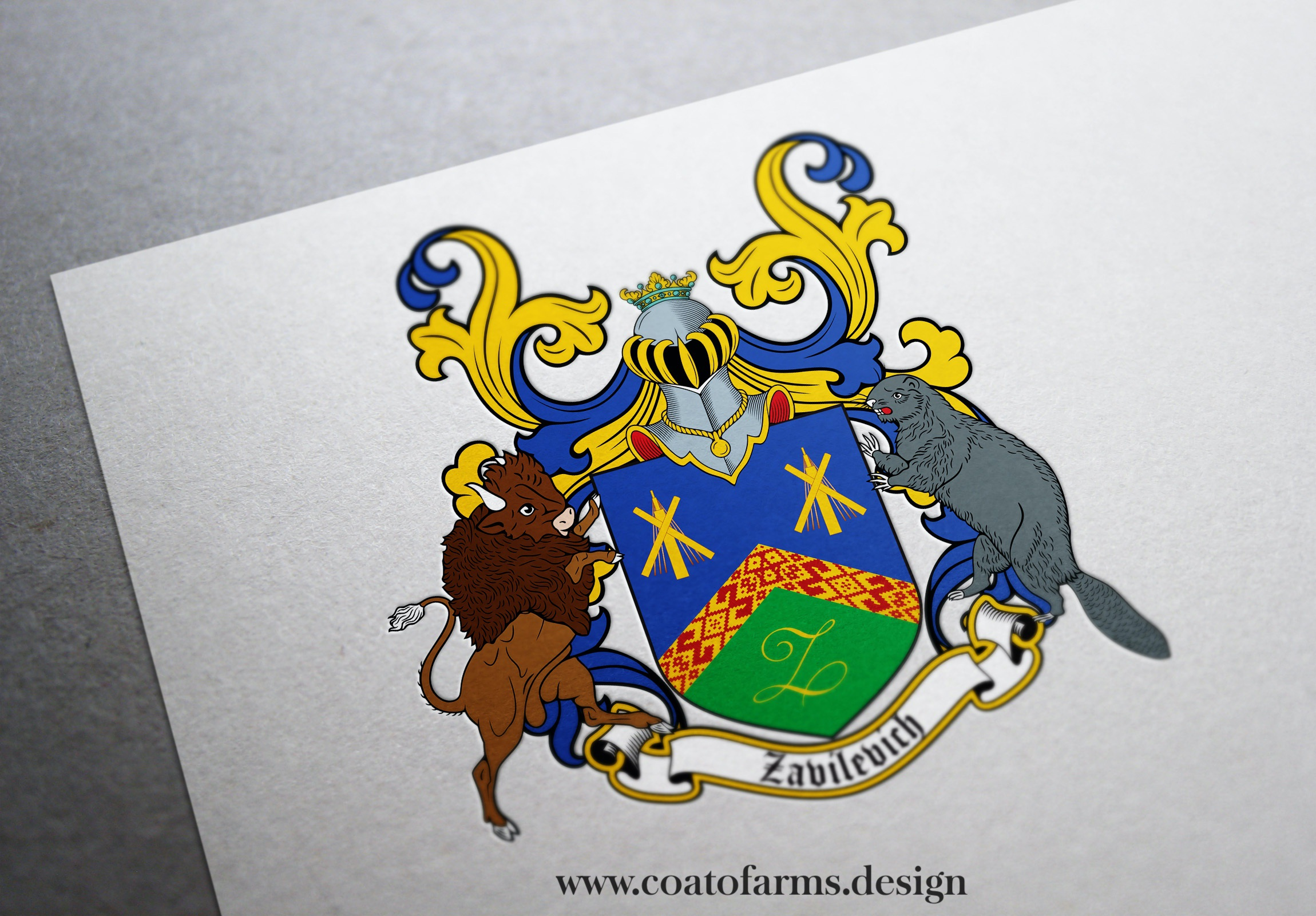 coat of arms for an American with Belarusian origin
