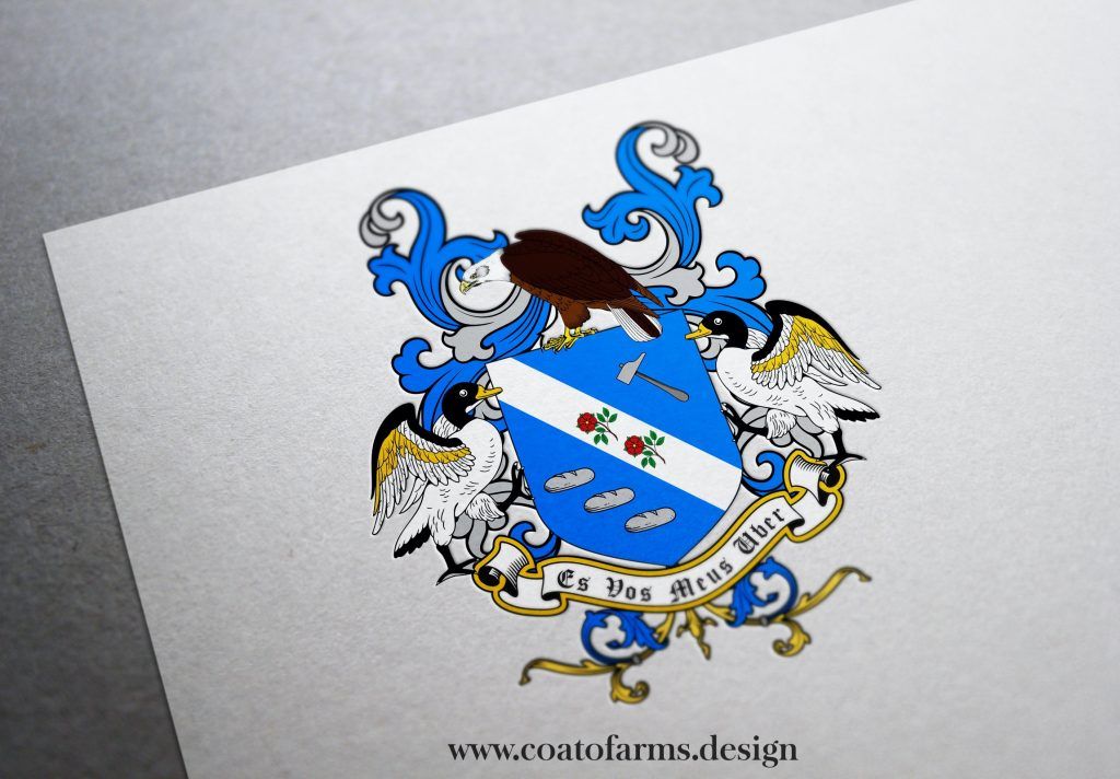 coat of arms for a family from Canada