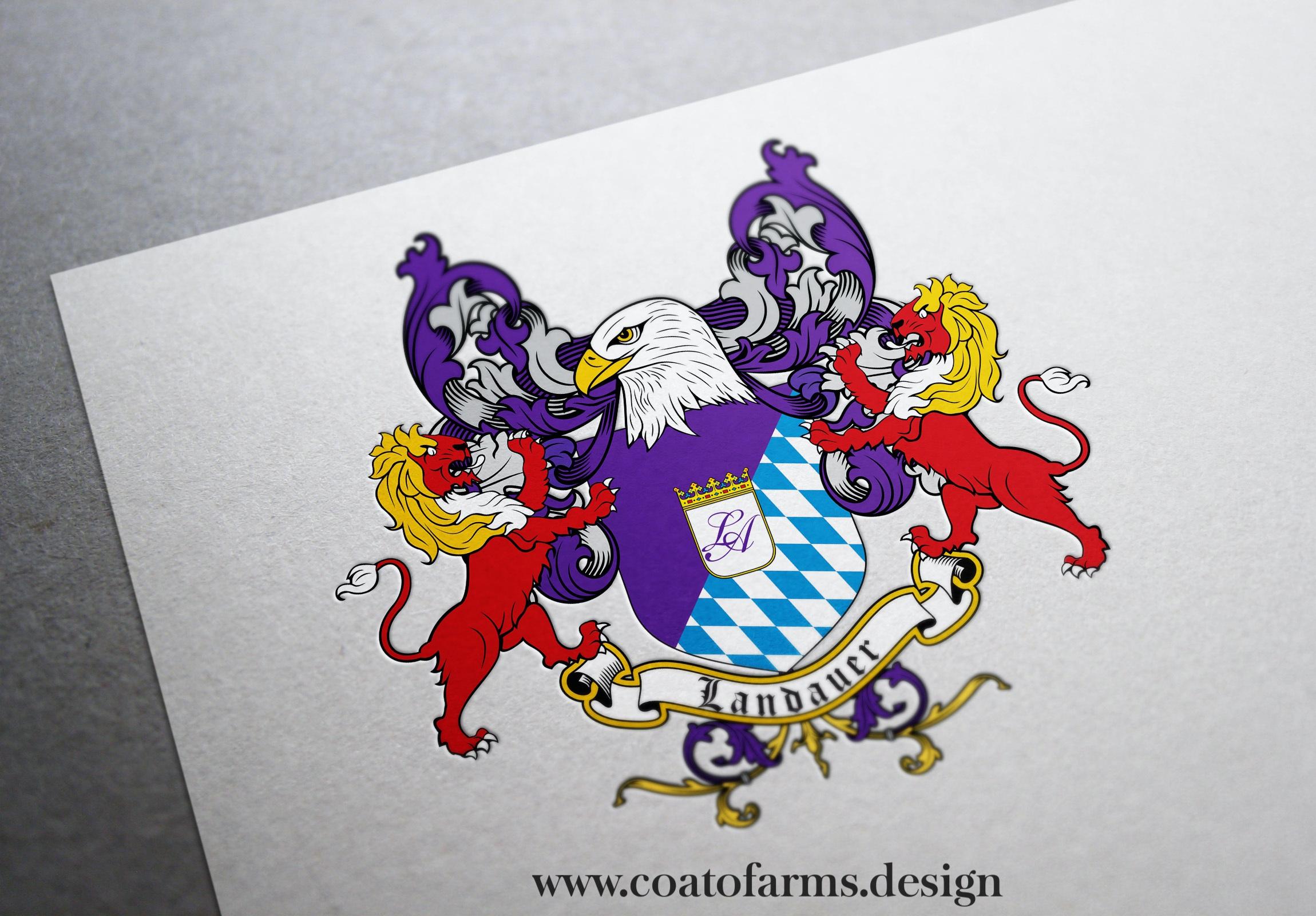 coat of arms landauer
