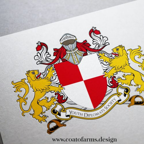Coat of arms I designed for an institution's club from Singapore