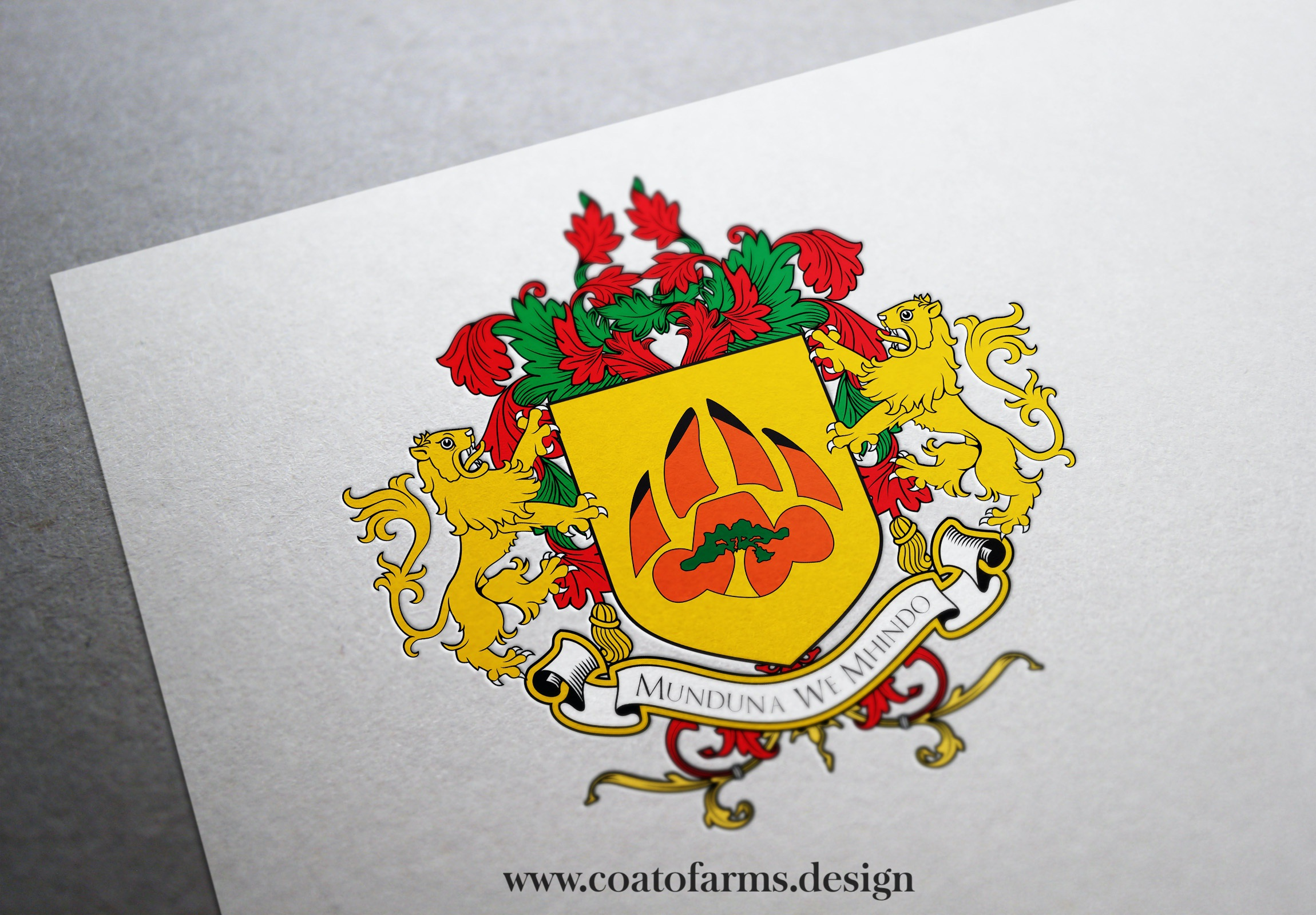 coat of arms family crest British citizen