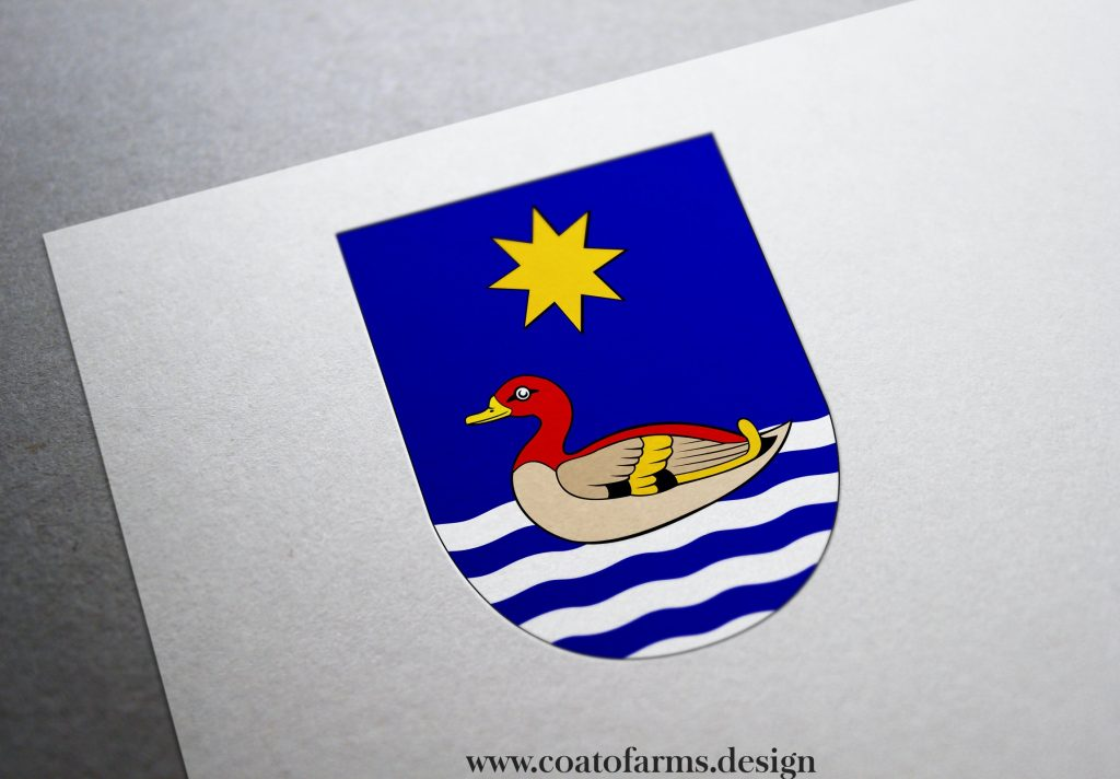 coat of arms family crest I designed for a book telling a story about an imaginary kingdom 1