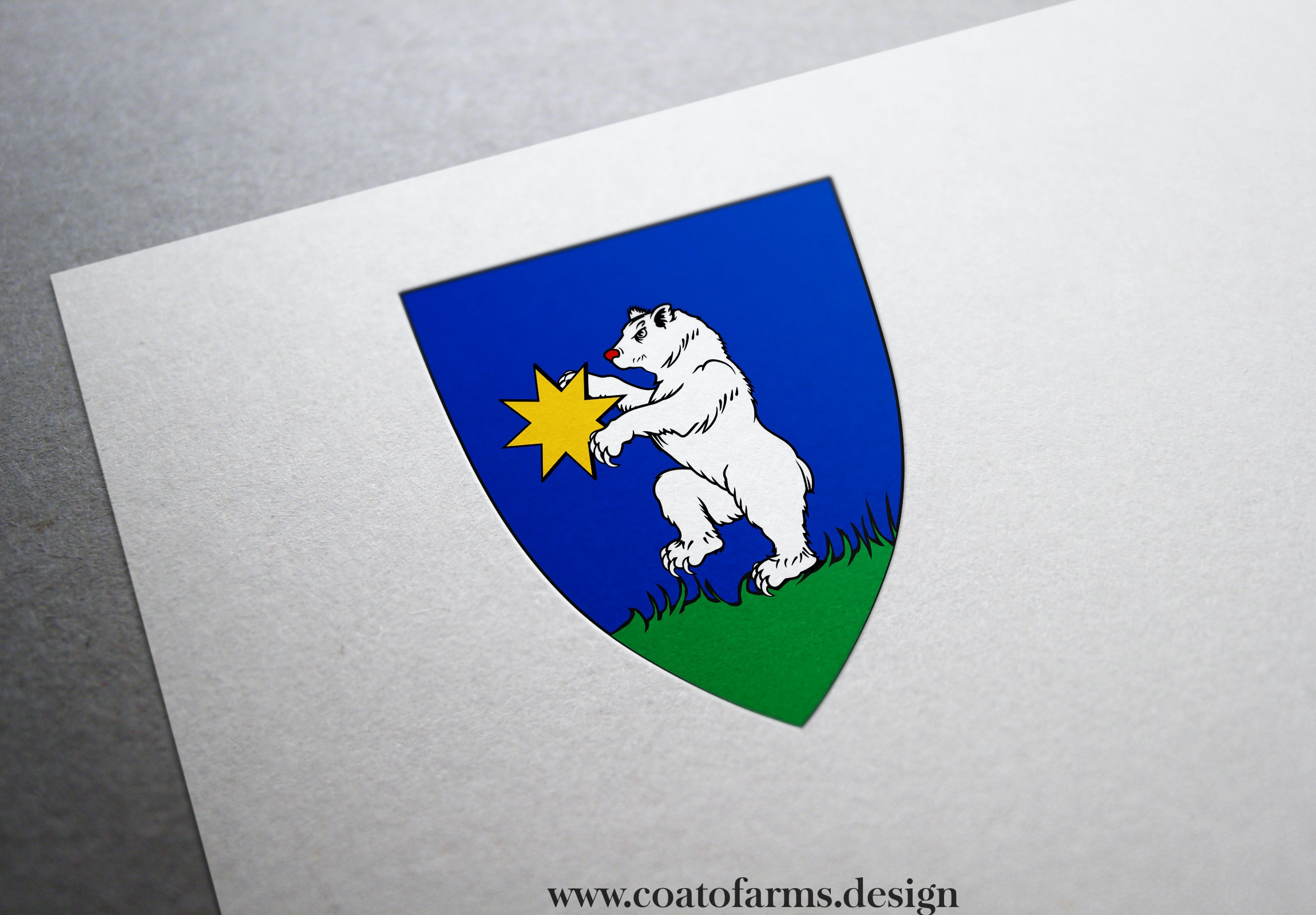 coat of arms family crest I designed for a book telling a story about an imaginary kingdom 2