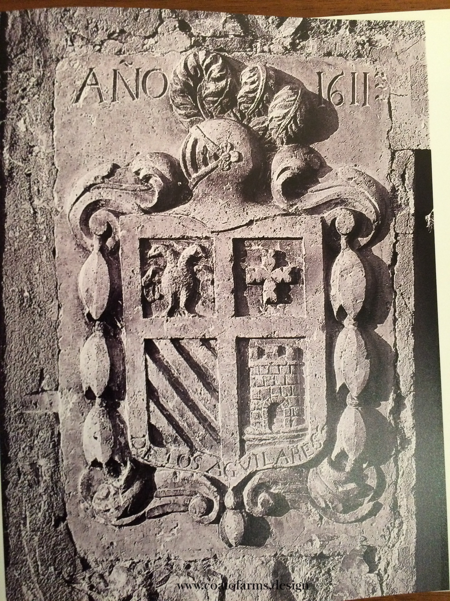 relief coat of arms