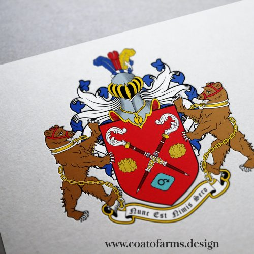Coat of arms I designed for a group of people from the USA