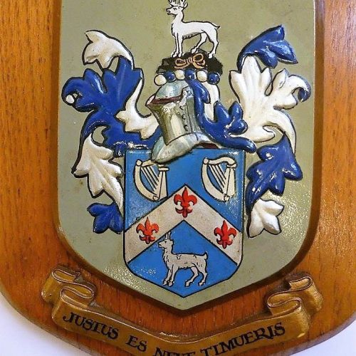 Coat of arms I redesigned for a British family according to the existing painted relief (with some changes) 2
