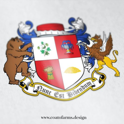 Coat of arms (emblem) I designed for a beer club from Australia
