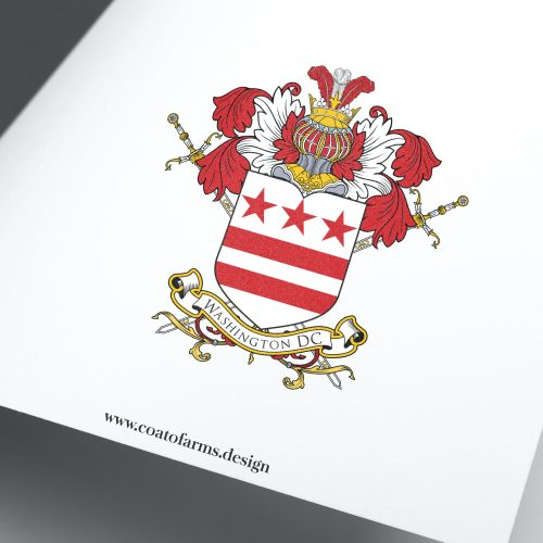 Coat of arms (emblem) I designed for a company from the USA, Washington DC