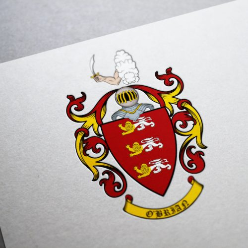 Coat of arms I created for O'Brian family from the USA