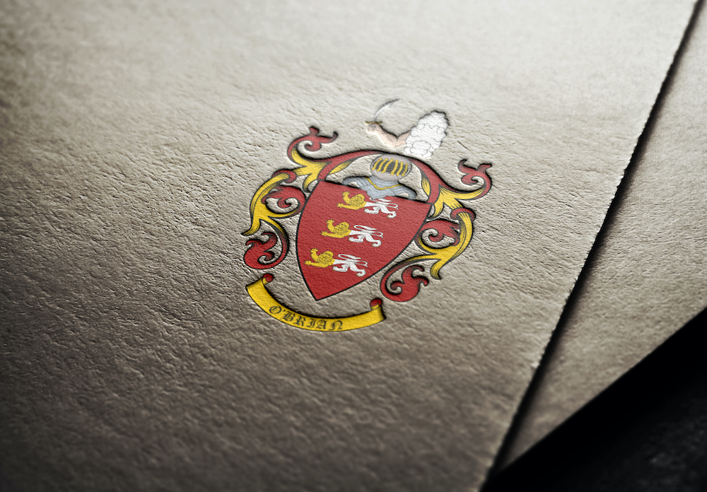 Coat of arms I created for O'Brian family from the USA 2