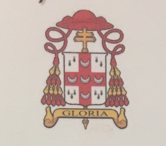 Coat of arms (church) I designed for a bishop Bernard Joseph Harrington from the USA 2
