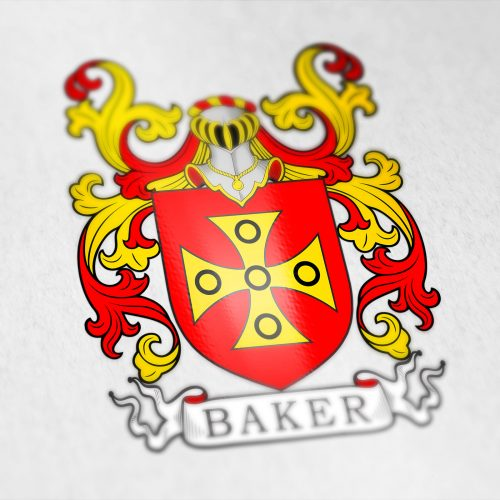 baker family coat of arms