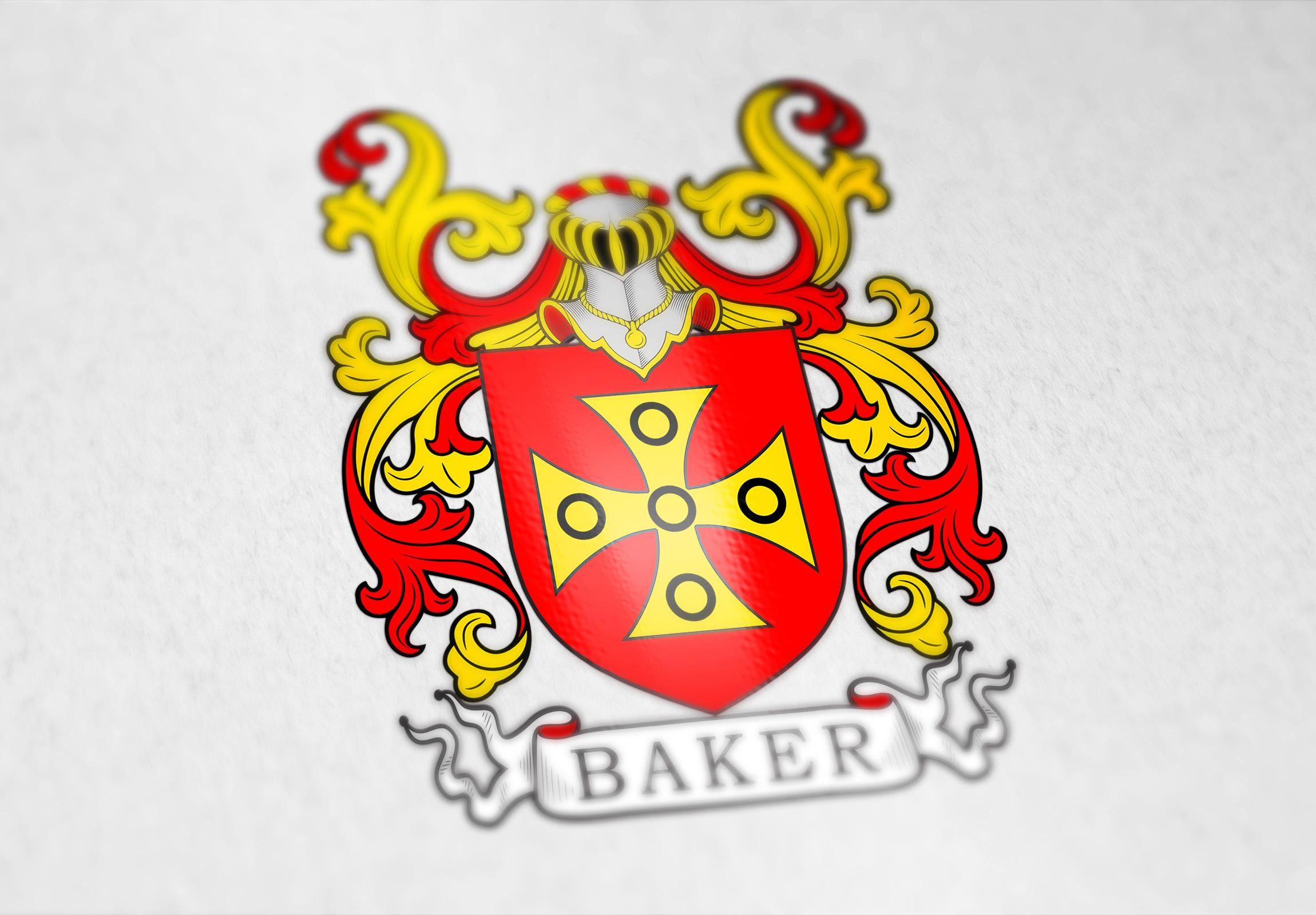 baker family coat of arms