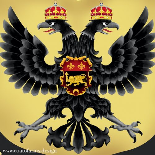 Coat of arms (family crest) I designed for an attorney family from Austria detail 2