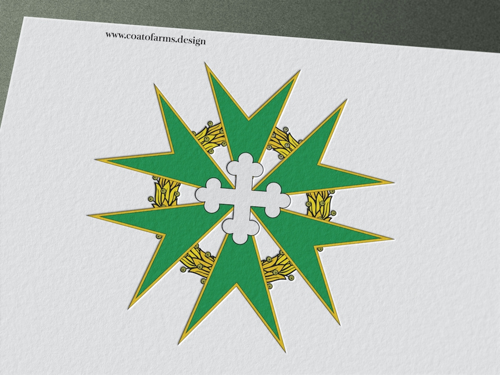 Emblem I designed for a group called THE KNIGHTS OF SAINT THOMAS AQUINAS 2