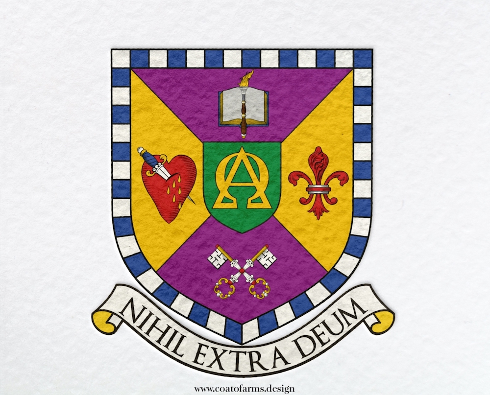 Ministerial seal or coat of arms (emblem) I designed for a client from Brazil big