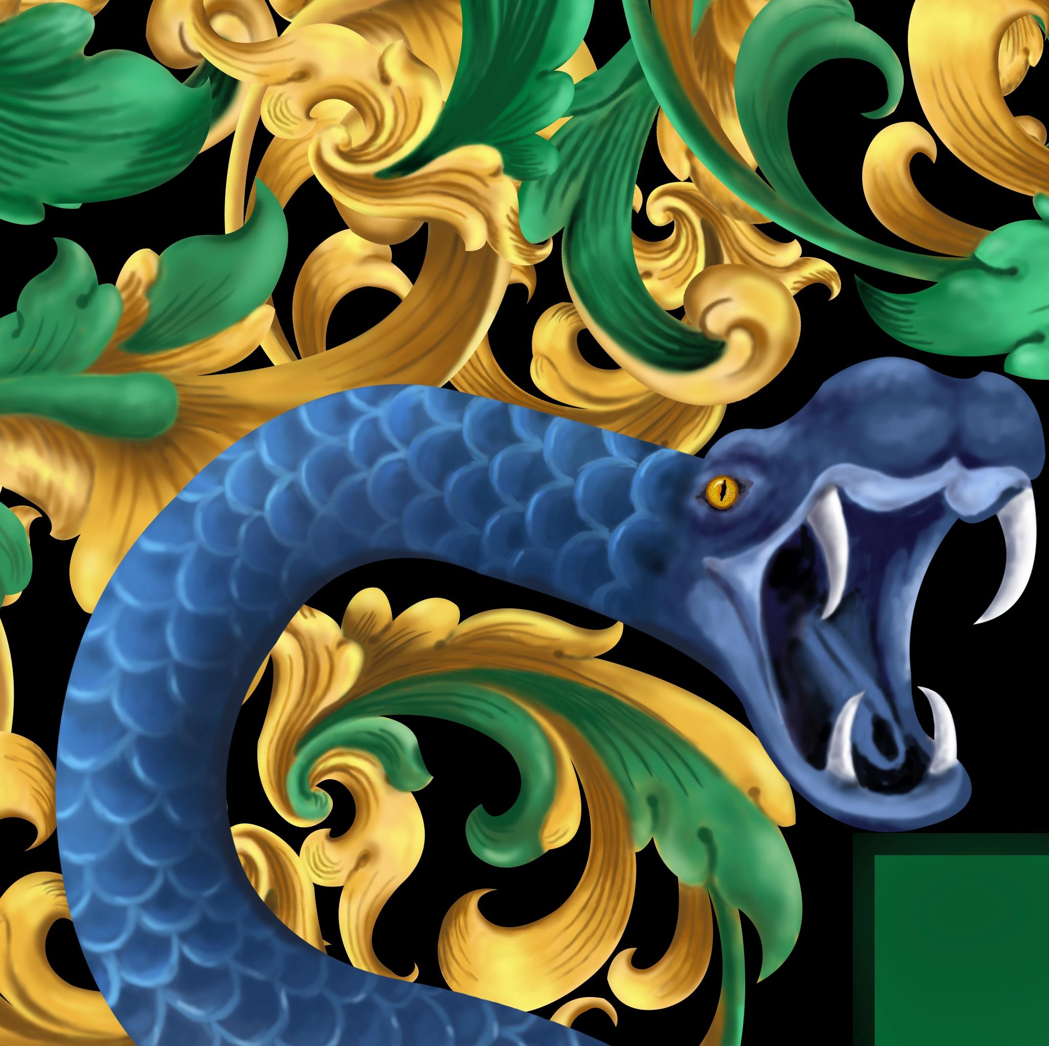 Kabuto coat of arms detail 2
