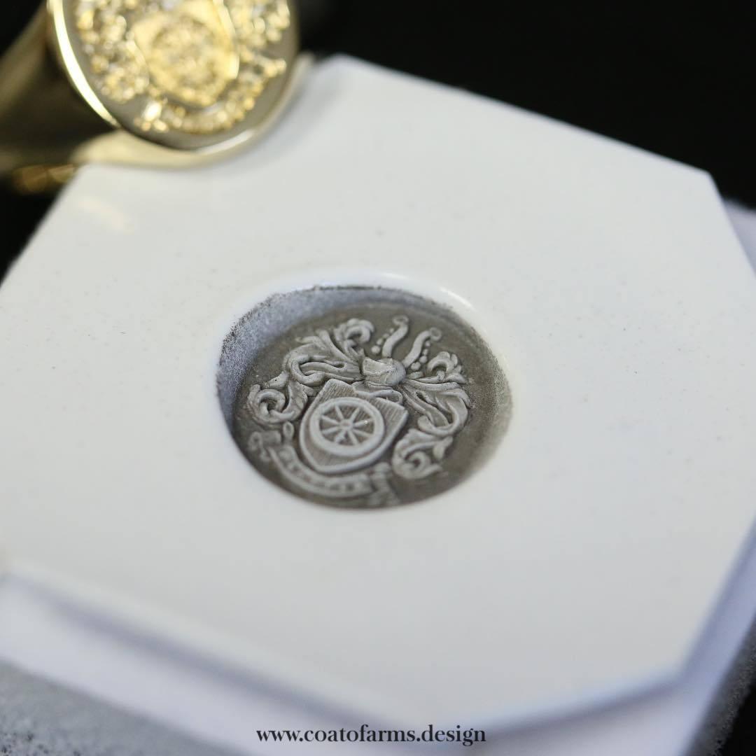Family crest I designed for a Platten family from the UK RING 3