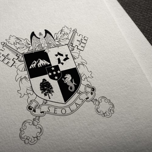 coat of arms for the solas family2