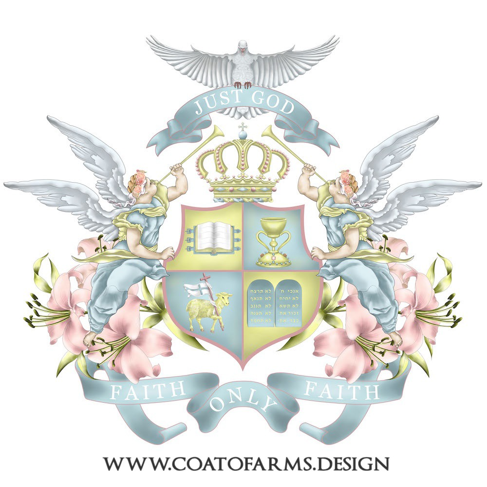 another Ecclesiastical coat of arms for a private person from the usa